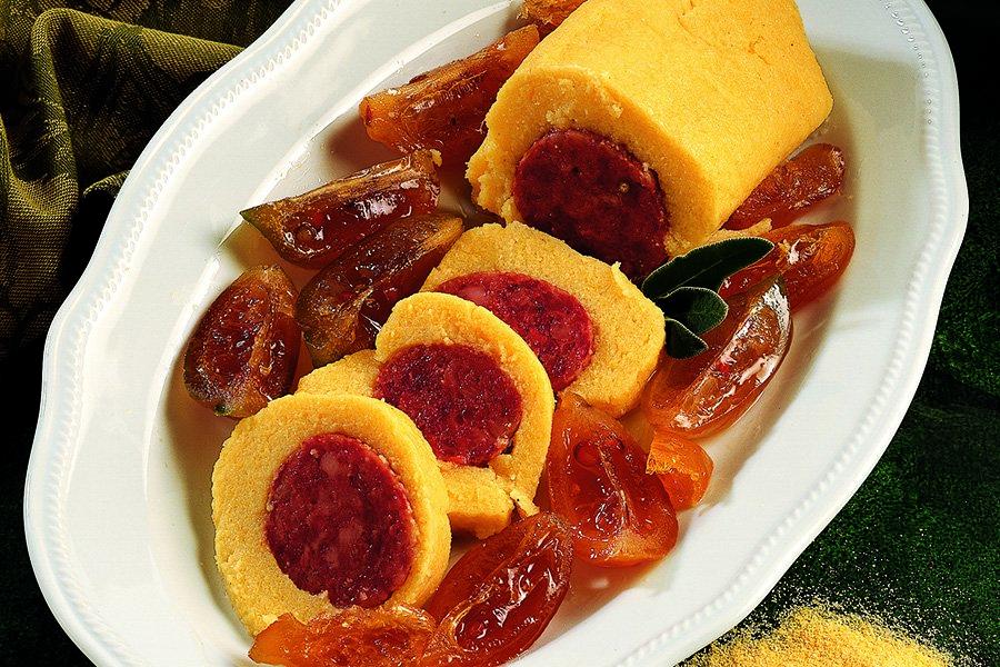Cotechino-in-crosta-di-polenta-con-mostarda